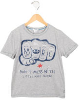 Little Marc Jacobs Boys' Printed Crew Neck T-Shirt