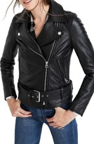 Madewell Women's Leather Moto Jacket