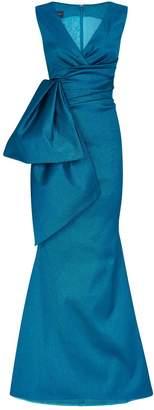 Talbot Runhof Bosworth V-Neck Gown