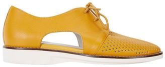 Sandler Sharon Mustard Glove Flat Shoes