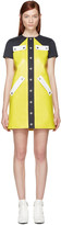 Courreges Yellow Patent Mini Dress