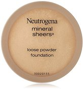 Neutrogena Mineral Sheers Loose Powder Foundation, Natural Ivory, 0.19 Ounce