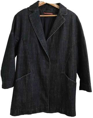 Comptoir des Cotonniers Blue Cotton Jackets