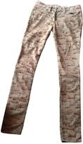 Isabel Marant Beige Cotton Trousers