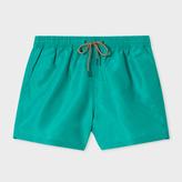 Paul Smith Men's Green Swim Shorts