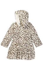WIDGEON Leopard Faux Fur Lining Jacket (Toddler & Little Girls)