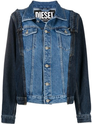 Diesel Reconstructed Denim Jacket