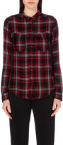 The Kooples Checked jersey shirt