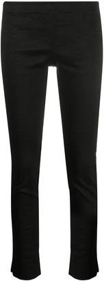 UMA WANG Cropped Linen-Blend Trousers