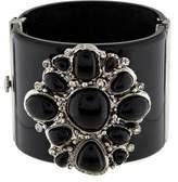 Chanel Resin & Crystal Bangle