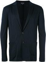 Giorgio Armani patch pockets blazer - men - Viscose - 48