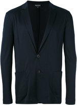 Giorgio Armani patch pockets blazer - men - Viscose - 50