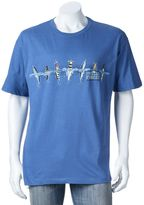 "Newport Blue Men's Special Forces Diving Into Action"" Tee"