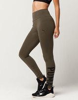 Puma Athletic Womens Leggings