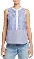 Elizabeth and James Jacey Striped Sleeveless Shirt