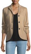 Rag & Bone Slade 3-Button Wool Tailored Blazer