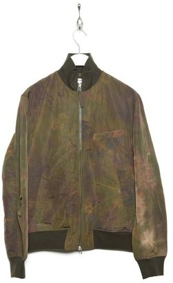 Universal Works Bomber Jacket 23137 Space Dye Nylon Olive - S