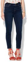New York & Co. Soho Jeans High-Waist Curvy Ankle SuperStretch Legging - Highland Blue Wash
