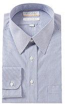 Roundtree & Yorke Gold Label Big & Tall Non-Iron Regular Full-Fit Point-Collar Striped Dress Shirt