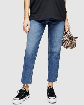 Topshop Maternity Over the Bump Straight Jeans