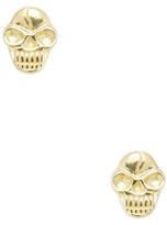 Good Charma Skull Stud Earrings