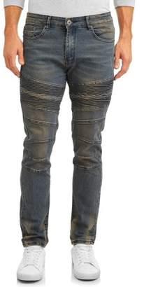 Modern Culture Men's Slim Stretch Moto Morro Bay Jean