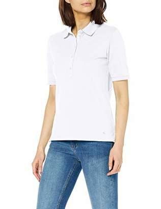 Brax Women's Cleo Finest Piqué Stretch Poloshirt Uni Polo Shirt, (Summer Red 43), (Size: 42)