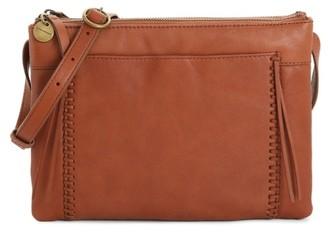 Lucky Brand Sebb Leather Crossbody Bag