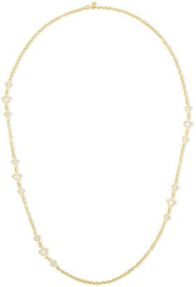Amrapali 18-karat Gold, Diamond And Topaz Necklace