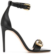 Alexander McQueen butterfly applique sandals