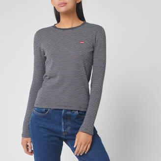 Levi's Women's Long Sleeve Baby T-Shirt