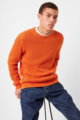 French Connenction Auderley Waffle Knit Sweater