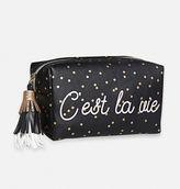"""Avenue """"Parlez-vous Français?"""" Cosmetic Bag"""