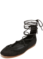 Joie Jenessa Ankle Wrap Ballet Flats