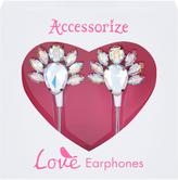 Accessorize Bling Gem Earphones