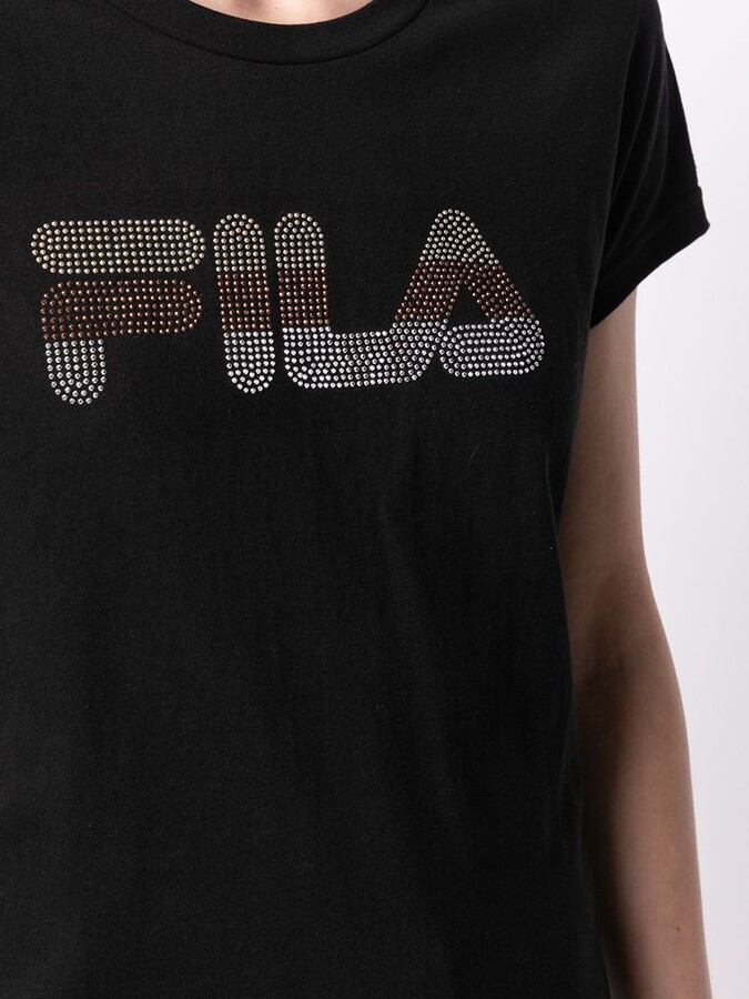 Thumbnail for your product : Fila Angy stud-embellished logo T-shirt