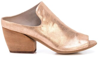Officine Creative Metallic 70mm Mules