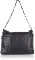 Stella McCartney The Falabella faux brushed-leather shoulder bag