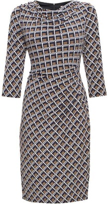 James Lakeland Ruffle three quarter Sleeve Dress