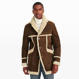 Club Monaco Crombie Shearling Coat