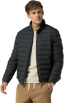 Tommy Hilfiger Wool Flannel Bomber Jacket