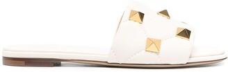 Valentino Rockstud slide sandals