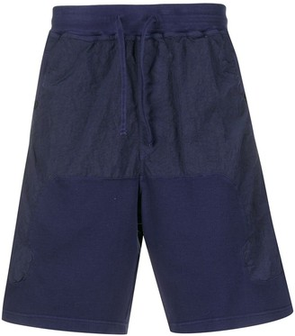Stone Island Shadow Project Panelled Cargo Shorts