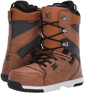 DC Mutiny Lace Snowboard Boot (Wheat) Men's Snow Shoes
