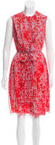 Carolina Herrera Printed Silk Dress w/ Tags