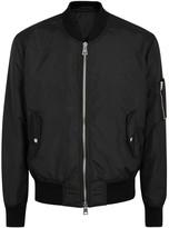 Ami Black Shell Bomber Jacket