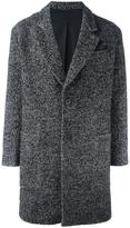 Ami Alexandre Mattiussi oversize 2 button coat - men - Cotton/Acrylic/Polyamide/Wool - 46