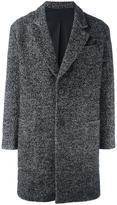 Ami Alexandre Mattiussi oversize 2 button coat - men - Cotton/Acrylic/Polyamide/Wool - 48