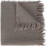 Rick Owens frayed scarf - men - Cashmere - One Size