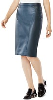 BCBGMAXAZRIA Natilie Faux Leather Pencil Skirt